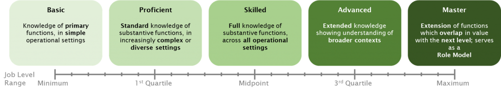 Skill Levels for pay management